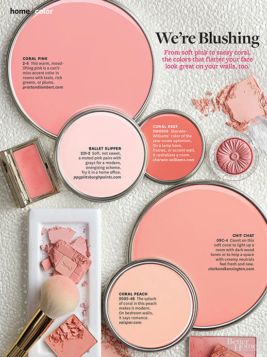Better homes and gardens january 2014 paint palette we Makeup room paint colors