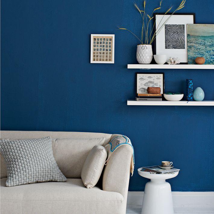 ... Boston Brownstone; Blue Danube Walls