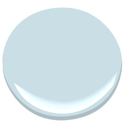 Fresh bathroom in light blue and white interiors by color for Benjamin moore breath of fresh air