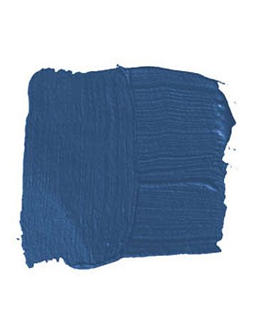 Benjamin Moore Patriot Blue paint chip