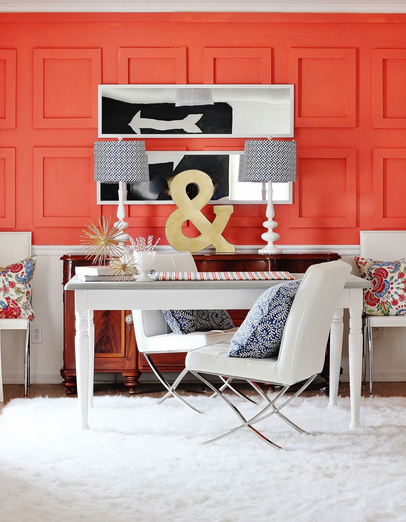 Eclectic in Coral
