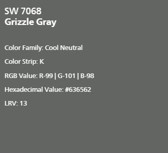 Sherwin Williams Grizzle Gray Interiors By Color 5 Interior Decorating Ideas