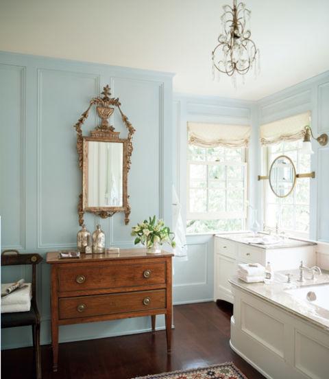 antique fresh bathroom