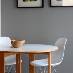 Benjamin Moore Storm in The Dining Room