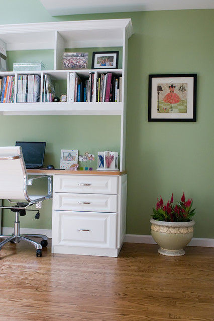 Home Office In Liberty Park Interiors By Color