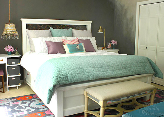 Moody Master Bedroom Makeover