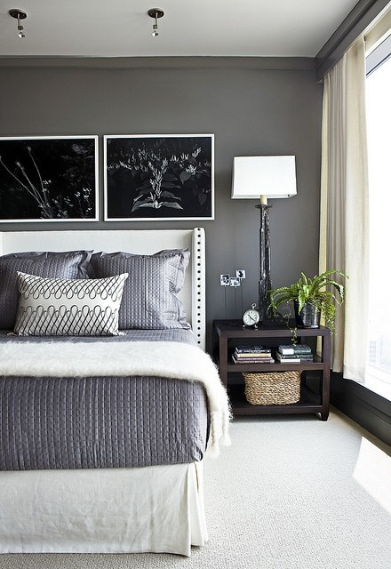 grey bedroom colors benjamin kendall charcoal interiors by color 8 11742