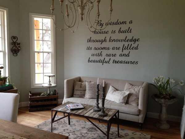 Walls In Sherwin Williams Silver Strand Interiors By