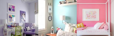 Perfect Paint Colors for a Girls Room