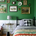 Vintage Styled Boys Room in Green