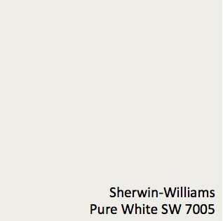 Pure White SW 7005 - Sherwin-Williams