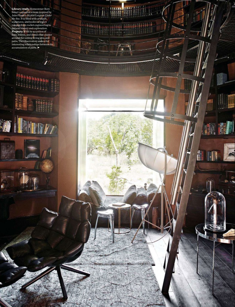 20,000 Leagues Under the Sea Inspired Home Library