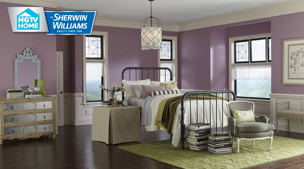 Hgtv home by sherwin williams softer side interiors by color for Paint colors exterior house simulator