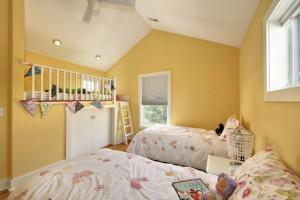 Kids Bedroom With Secret Loft Bed