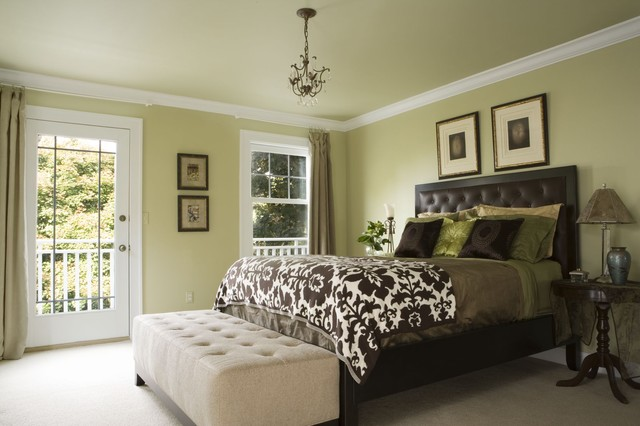 Master Bedroom Addition in Green