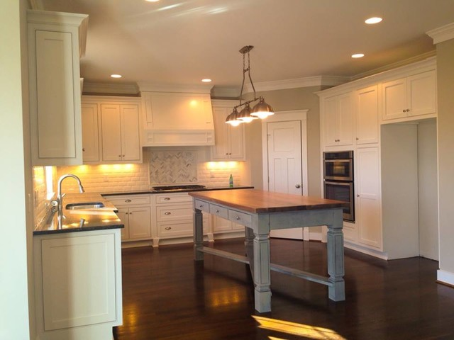 Sherwin Williams Perfect Greige Kitchen