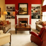 Sherwin Williams Red Bay and Sherwin Williams Empire Gold