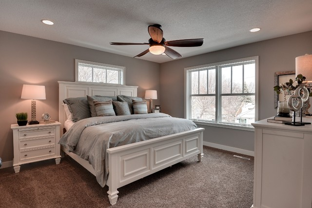 Sherwin Williams Requisite Gray Walls in the Bedroom ...