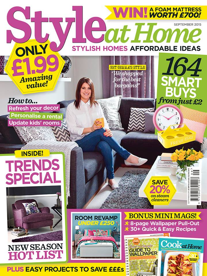 High Quality Style At Home Magazine September 2015