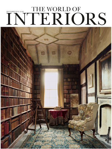 The World of Interiors September 2015 Cover