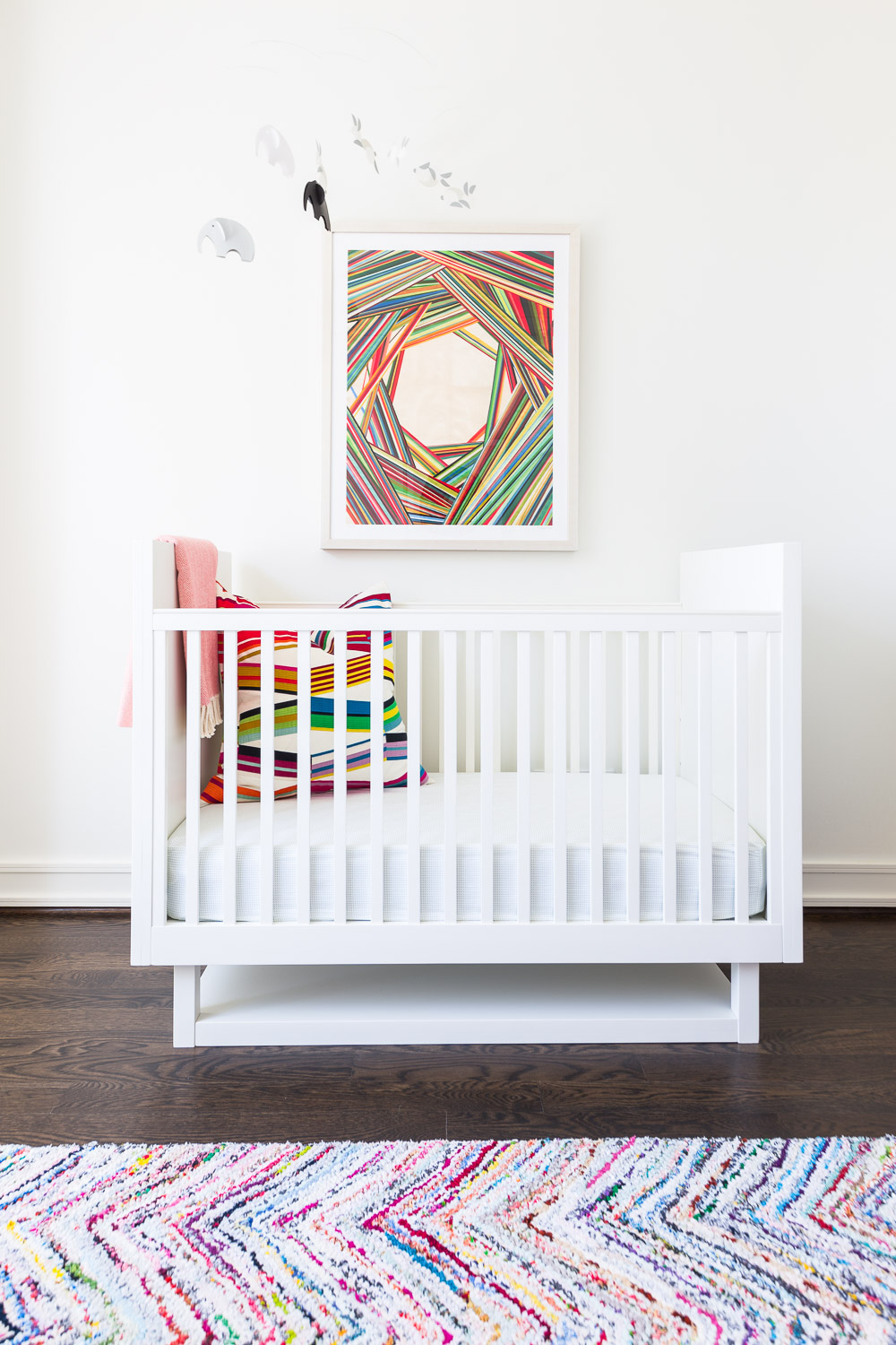 colorful nursery and art