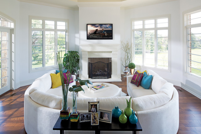 Sectional Sofa in White