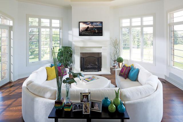 contemporary-living-room SW extra white