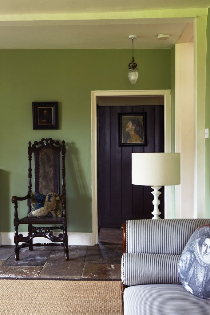 Farrow Amp Ball Calke Green Interiors By Color 6 Interior
