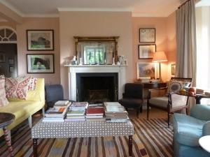 Farrow & Ball's Setting Plaster Sitting Room