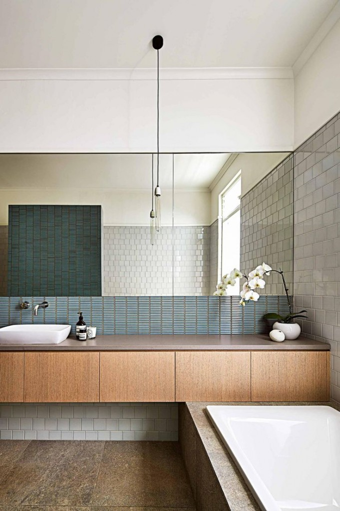 Modern Bathroom in Australia - Interiors By Color