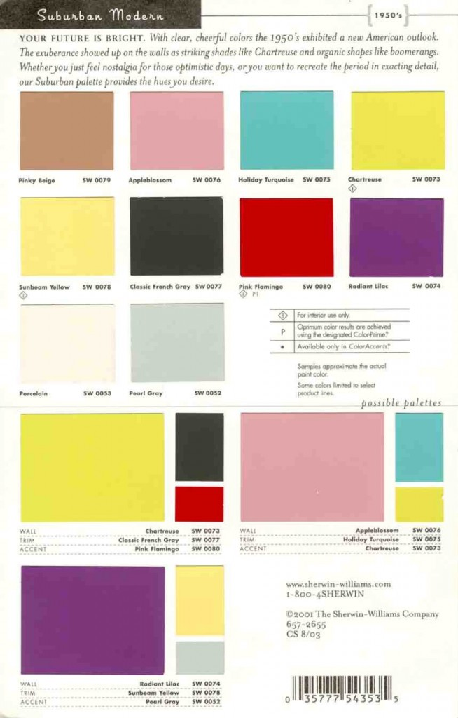 Suburban Modern Paint Pallete Interiors By Color