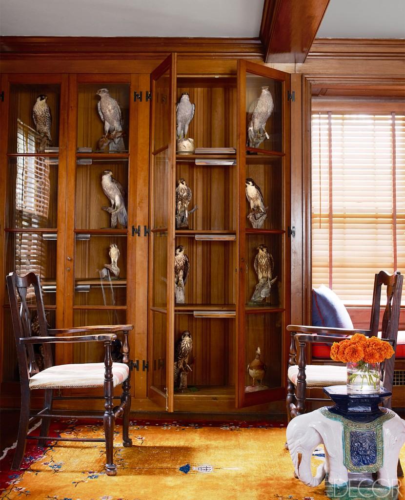 original pine cabinetry