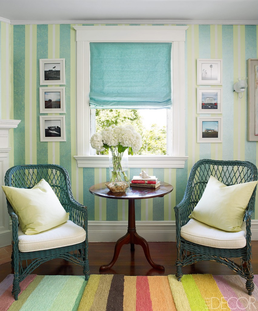 Wallpapers In Home Interiors: A Century-old House On Fishers Island