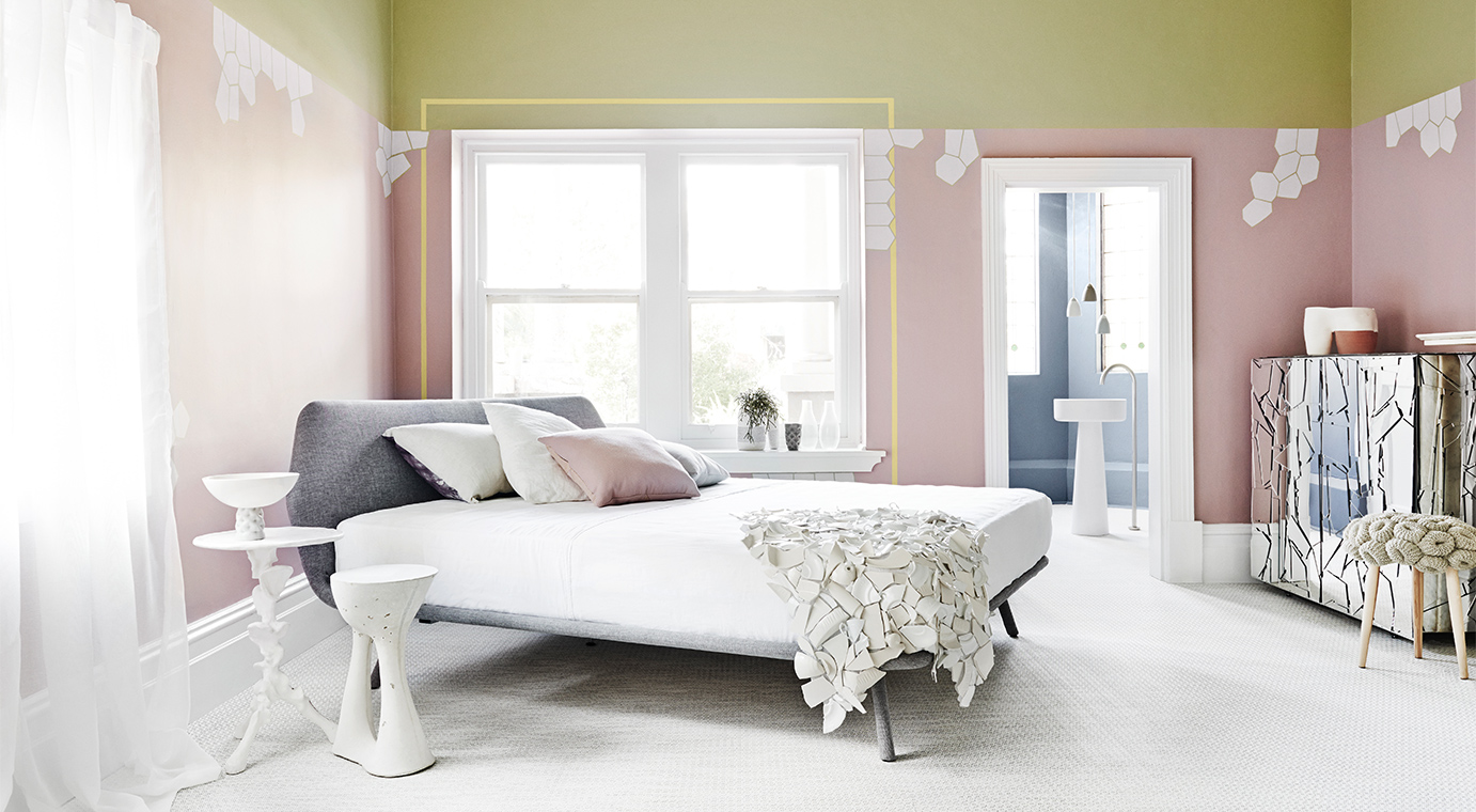 Bio fragility dulux painted bedroom interiors by color for Dulux paint ideas bedroom