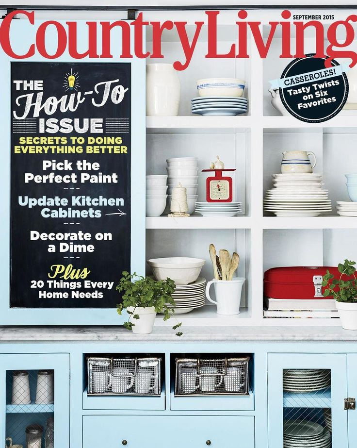 Country Living Cover September 2015