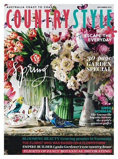 Australia Coast to Coast Country Style Cover September 2015