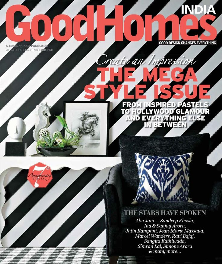 Goodhomes India Cover September 2015