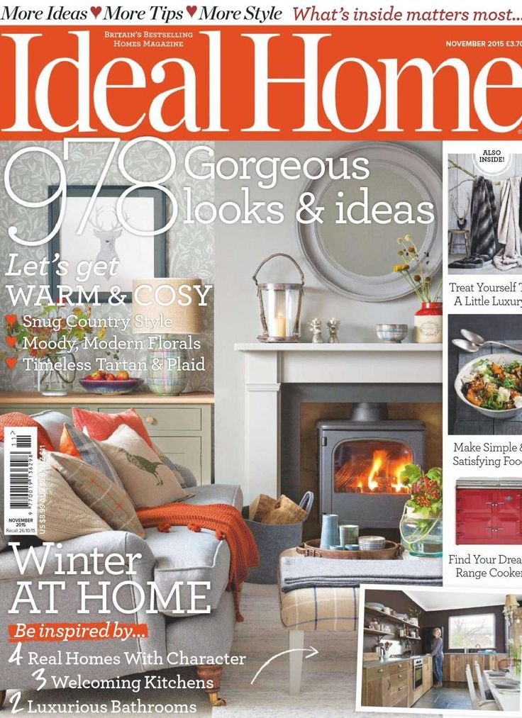 Ideal Home November 2015 Cover
