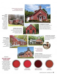 Little Red Schoolhouses