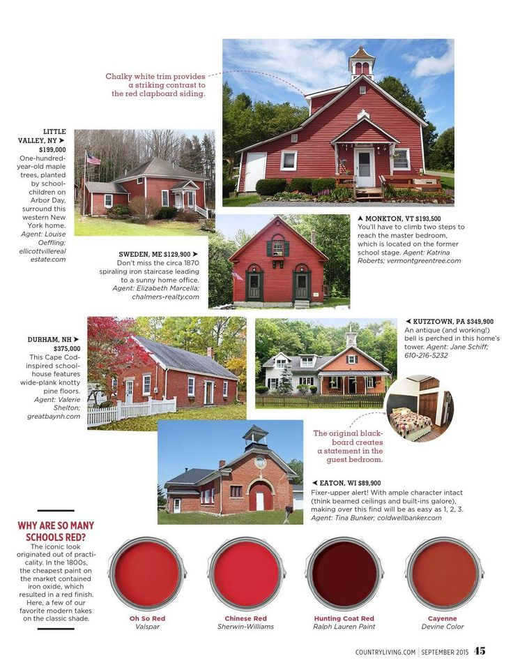 Little Red Schoolhouses 1
