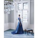 Ralph Lauren Saltaire Walls and Blue Carpet