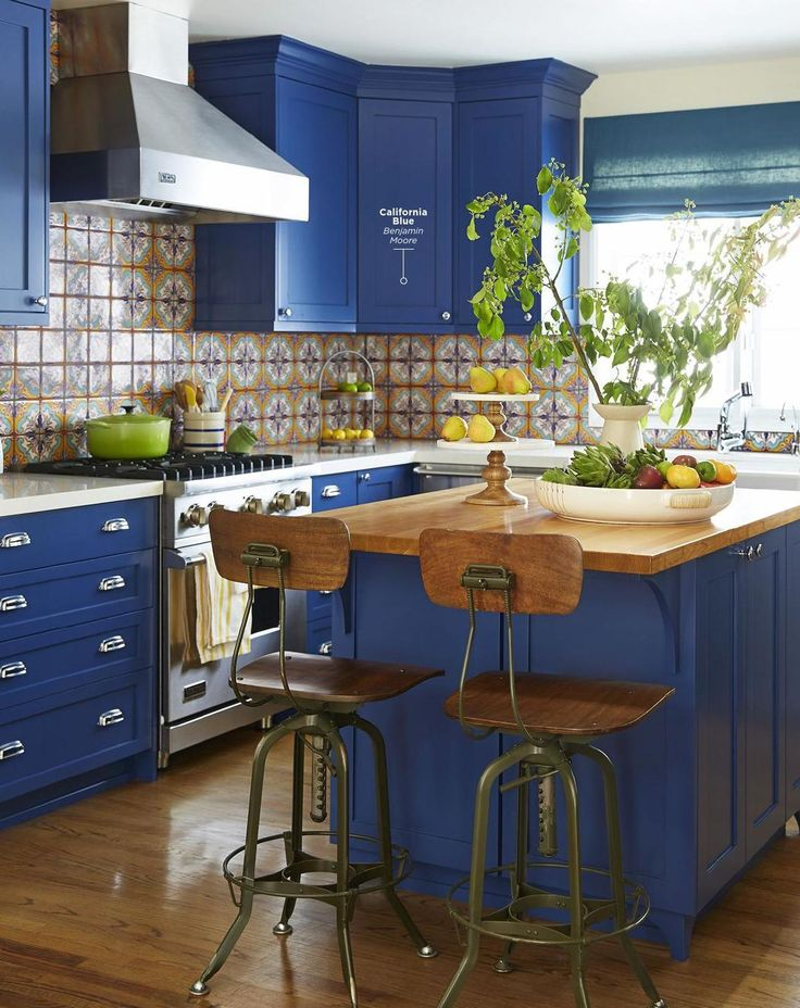 Benjamin Moore California Blue Interiors By Color 1