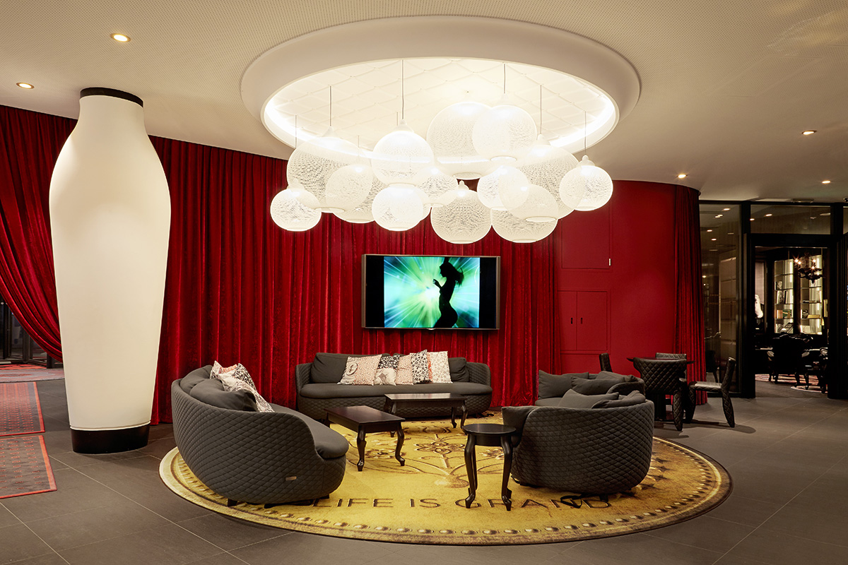 Kameha Grand Zurich Interiors By Color