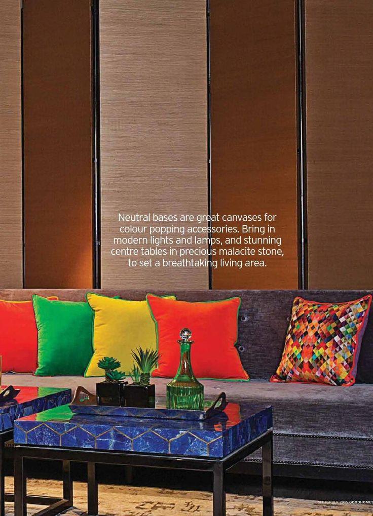orange yellow and green throw pillows blue malachite coffee tables