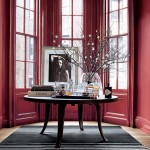 Windows Painted in Ralph Lauren's Townhouse Red Paint Color