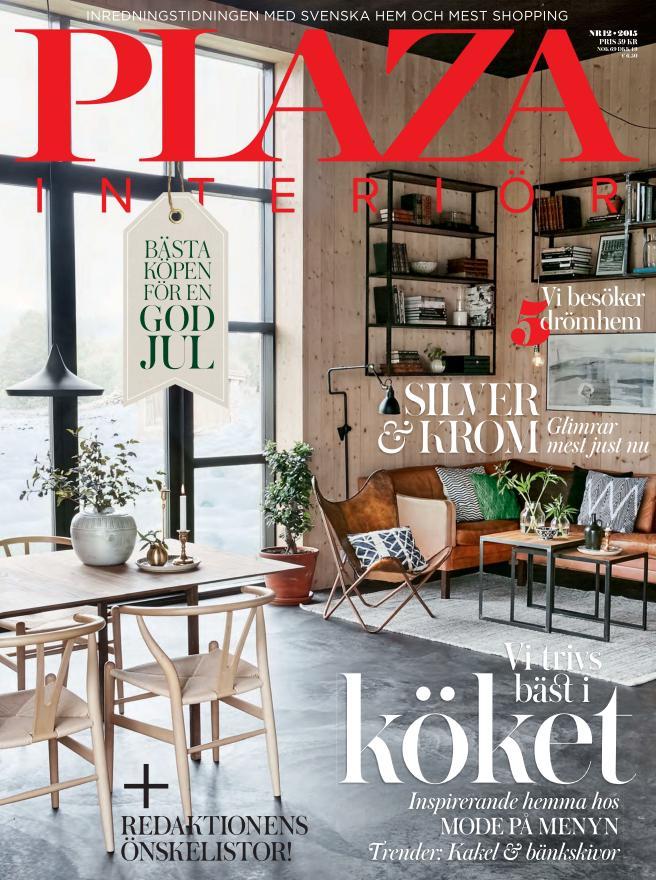 Plaza Interiör December 2015 Cover