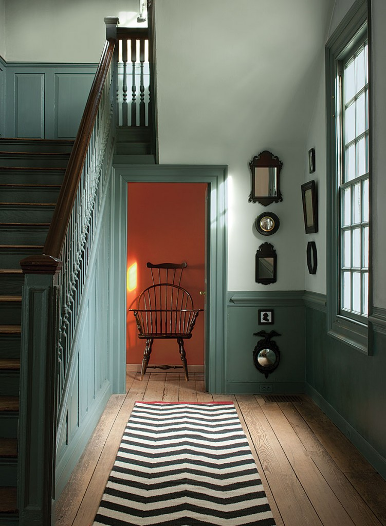 Benjamin Moore Williamsburg Collection Interiors Color