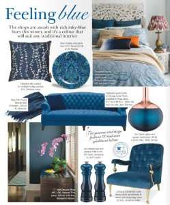 Interiors: Feeling Inky Blue