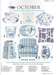 Interior: China Blue