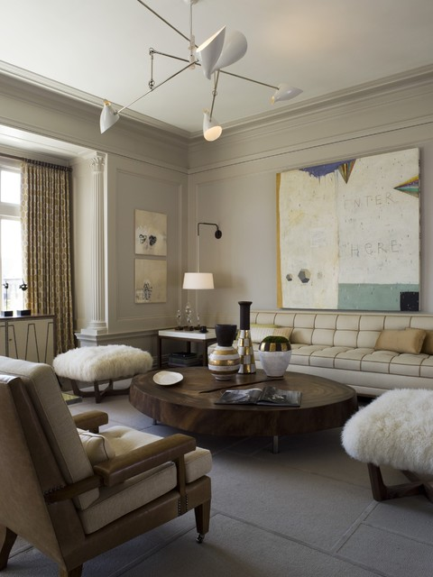 12 Rooms Painted in Benjamin Moore Revere Pewter - Interiors By Color